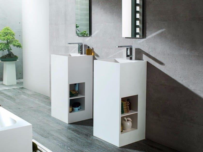 Single Krion® washbasin RAS | Single washbasin by Systempool