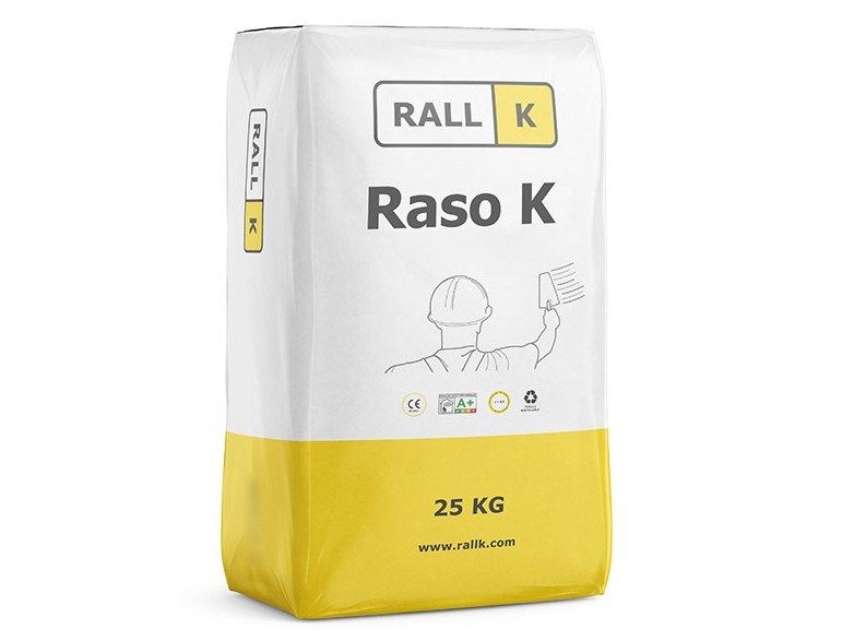 Mortar and grout for renovation RASO K nhl by RALLK