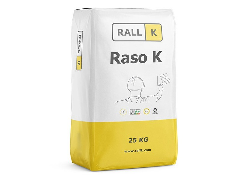 Mortar and grout for renovation RASO K by RALLK
