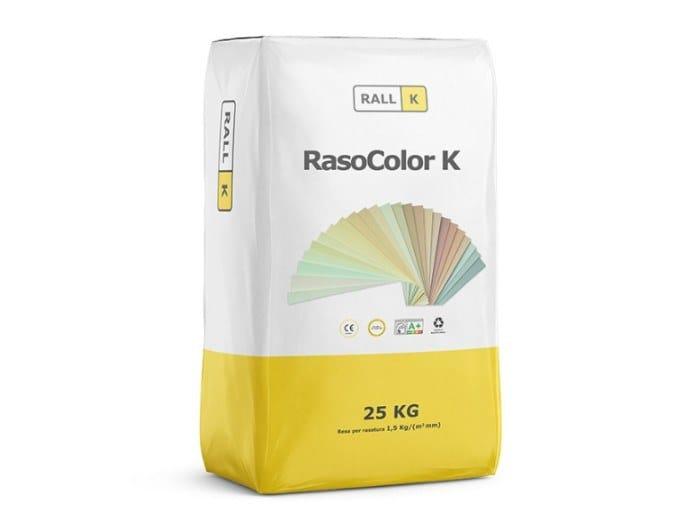 Finitura ad alta traspirabilità per interni ed esterni RASOCOLOR K by RALLK