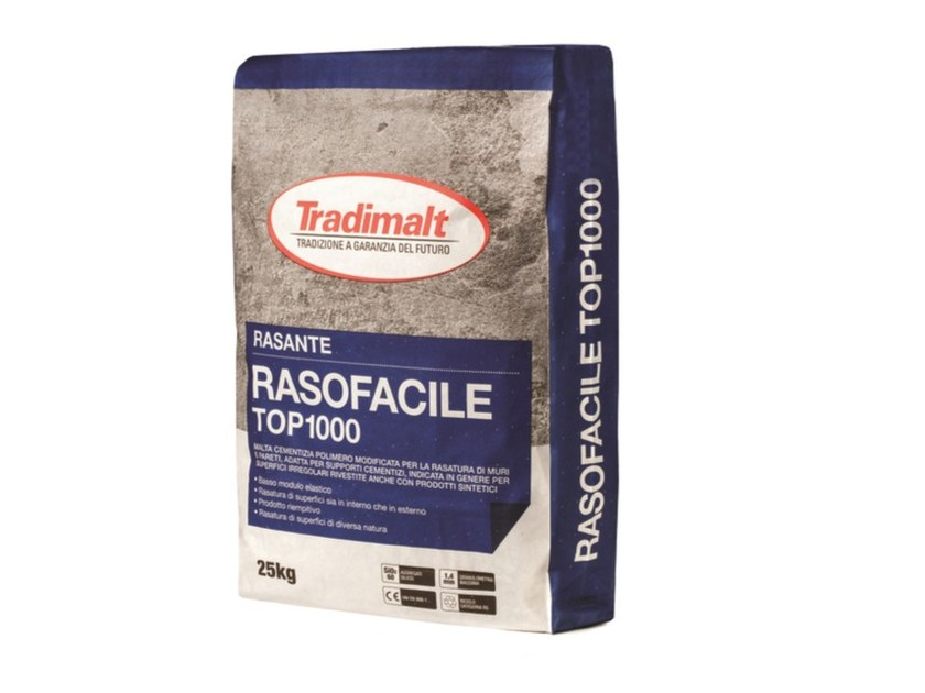 Mortar for masonry RASOFACILE TOP1000 by TRADIMALT