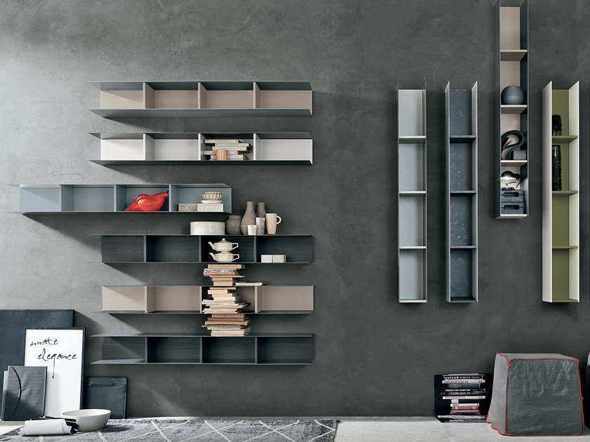 Wall shelf RASTER   Wall shelf by Gruppo Tomasella