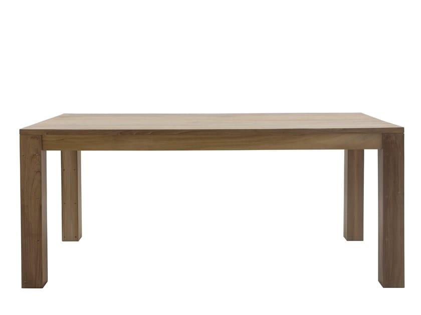 Rectangular garden table RATIO | Rectangular table by Il Giardino di Legno