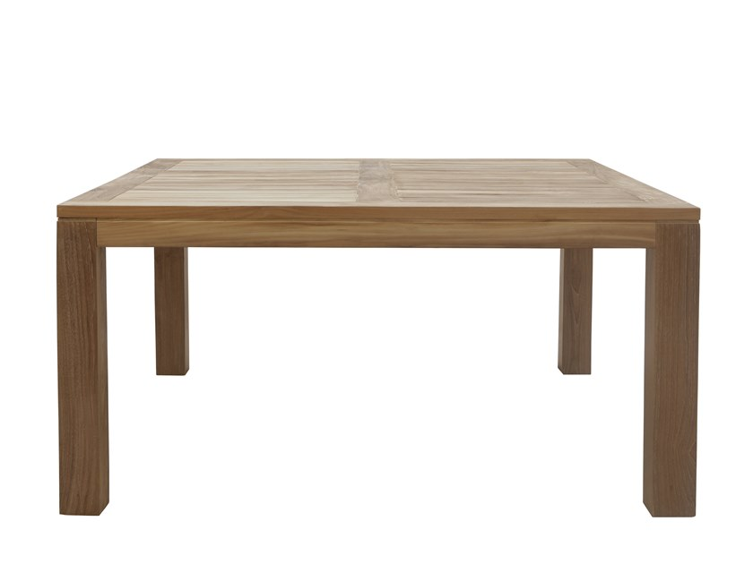 Square garden table RATIO | Square table by Il Giardino di Legno