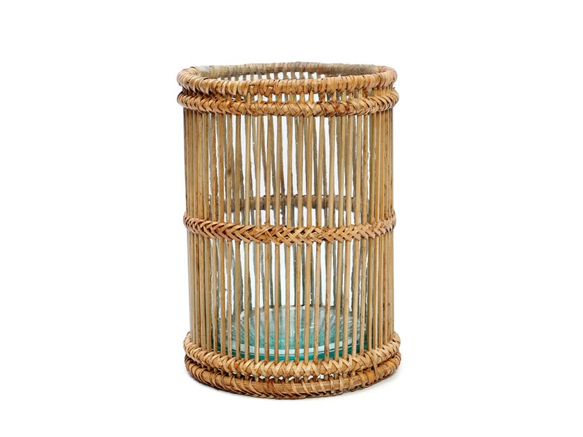 Rattan candle holder RATTAN L by Bazar Bizar