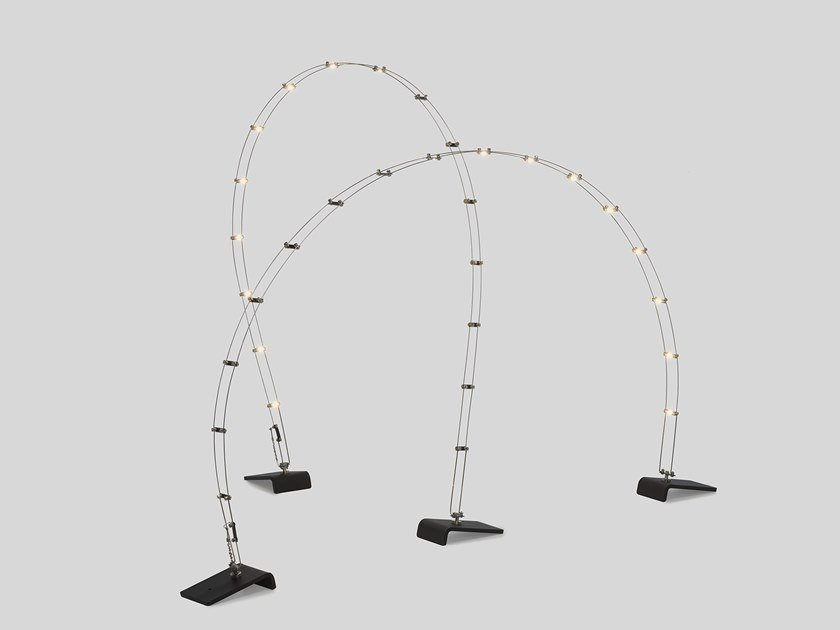 LED floor lamp with rechargeable battery RAVEN by Quasar