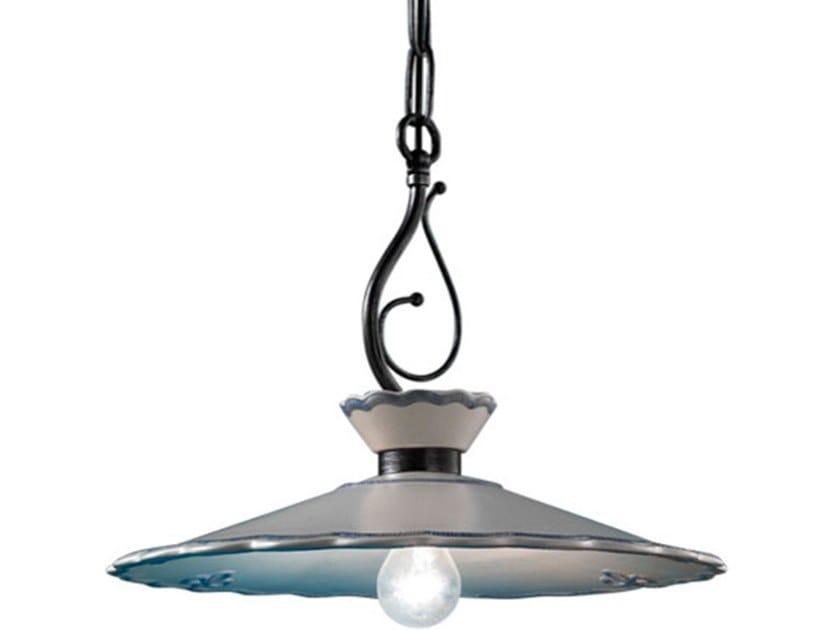 Direct light ceramic pendant lamp RAVENNA | Pendant lamp by FERROLUCE