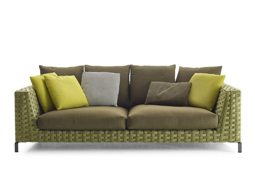 B and italia sofa ray for Sofa exterior conforama