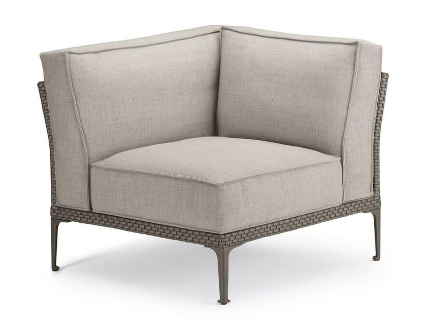Corner modular armchair RAYN | Corner armchair by DEDON