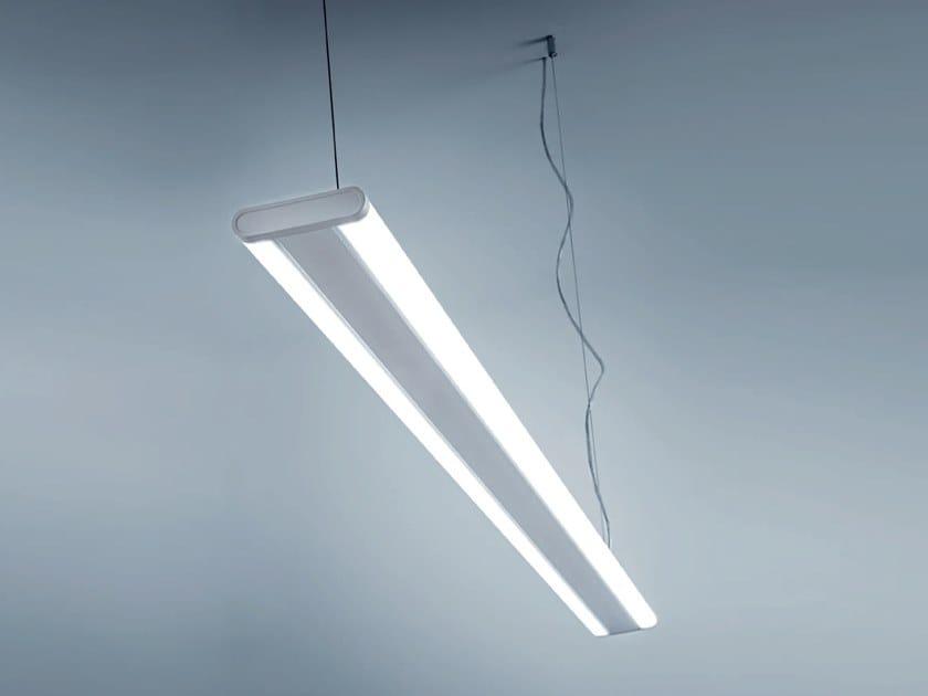 Lampada a sospensione a led in policarbonato rublo by rossini