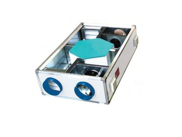 Mechanical forced ventilation system RDCD O by WAVIN ITALIA