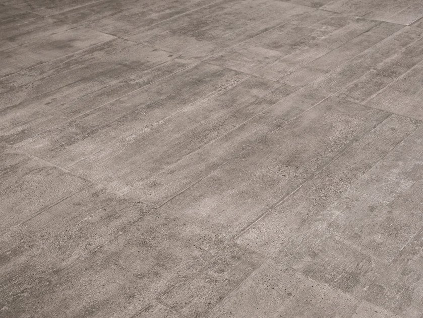 Indoor/outdoor Porcelain Stoneware Wall/floor Tiles RE USE MALTA GREY By  Provenza