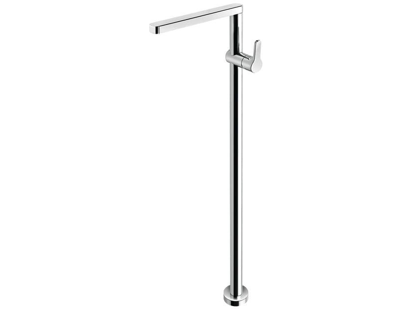 Floor standing single handle washbasin mixer READY 43 - 4313008 by Fir Italia