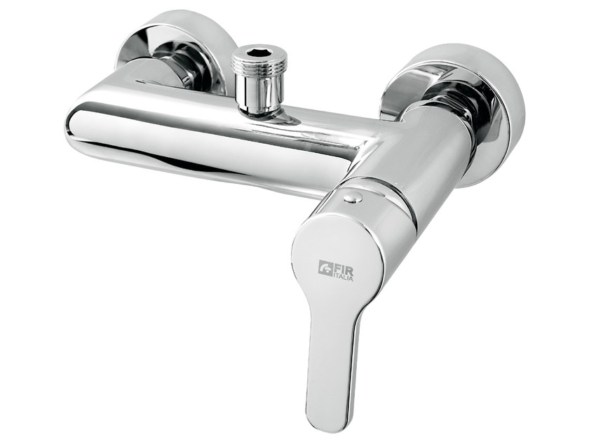 2 hole single handle shower mixer READY 43 - 4354060 by Fir Italia