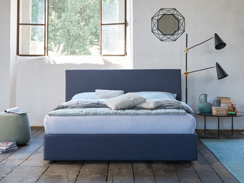 Upholstered double bed REBOOT by Dorelan