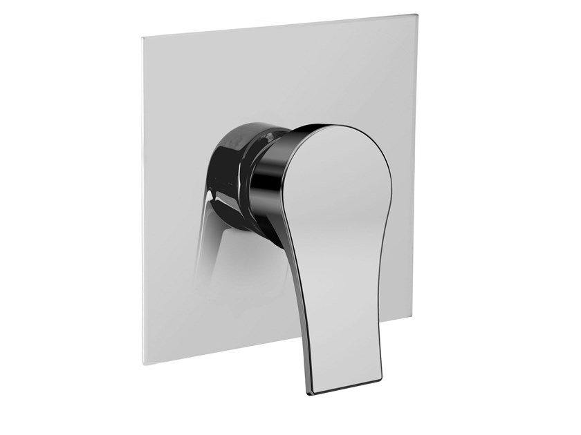 Recessed single handle shower mixer FUSION   Recessed shower mixer by BIANCHI RUBINETTERIE