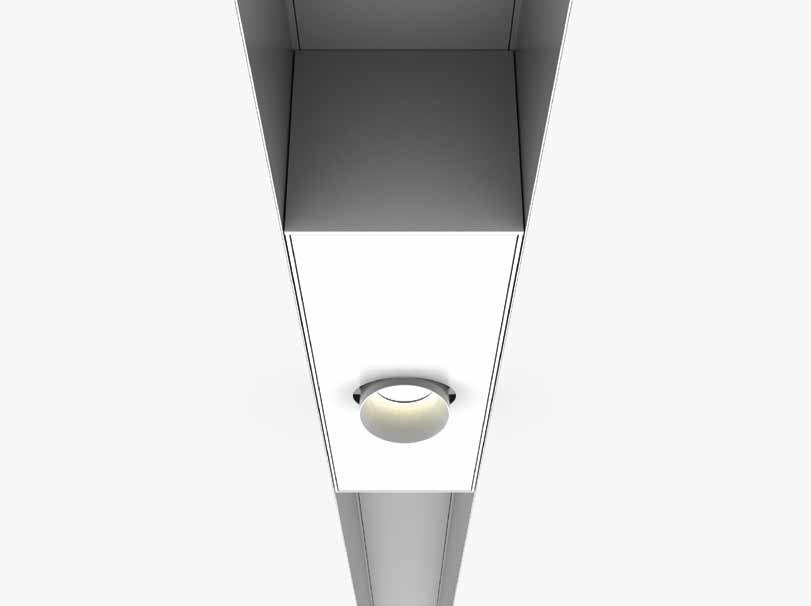 LED recessed spotlight FARETÈN | LED spotlight by LUCIFERO'S