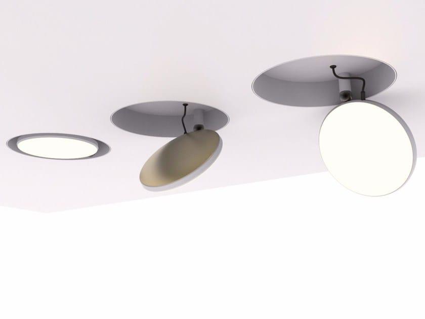 LED adjustable recessed spotlight AVVENI DOWNLIGHT by Sattler