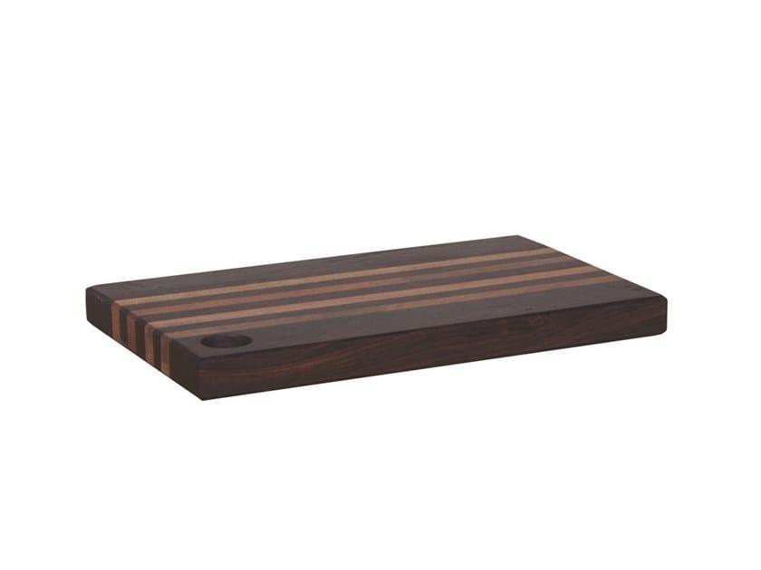 Rectangular wooden chopping board Rectangular chopping board by Il Giardino di Legno