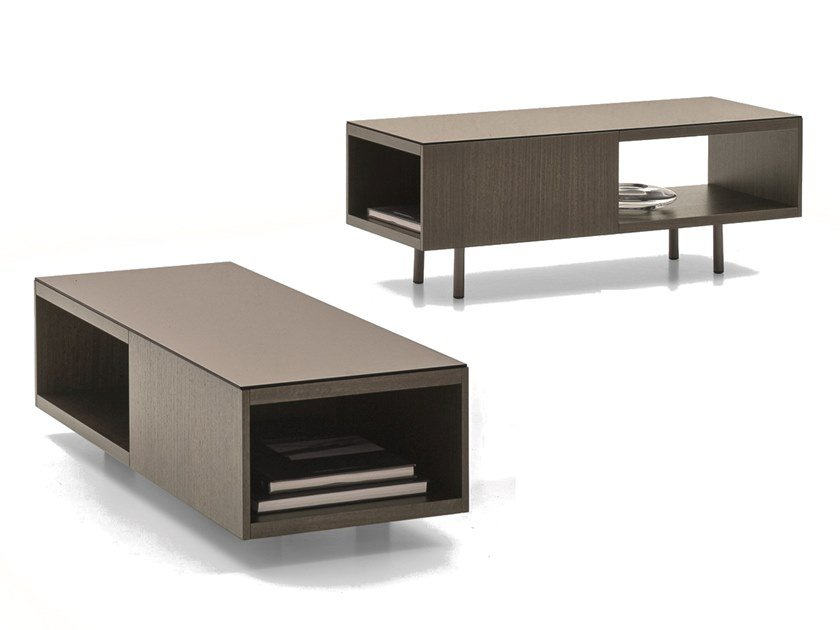 Rectangular coffee table with storage space UNION/URBAN | Rectangular coffee table by Ditre Italia