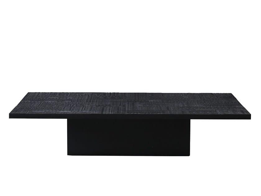 Rectangular teak coffee table ANCESTORS TABWA | Rectangular coffee table by Ethnicraft