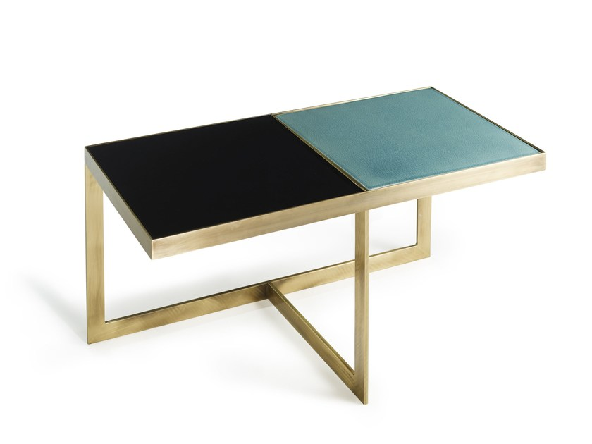 Low rectangular coffee table CAROUSEL | Rectangular coffee table by MARIONI