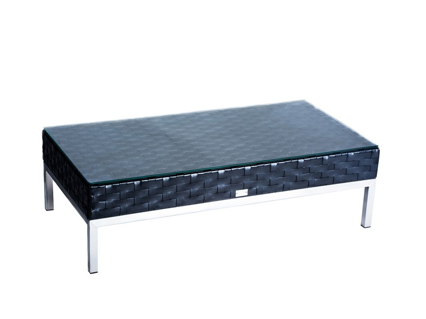 Low rectangular coffee table CONDO | Rectangular coffee table by 7OCEANS DESIGNS
