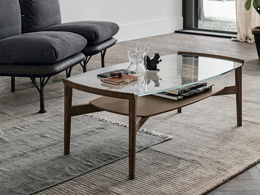 Rectangular coffee table for living room BLOOM | Rectangular coffee table by Gruppo Tomasella