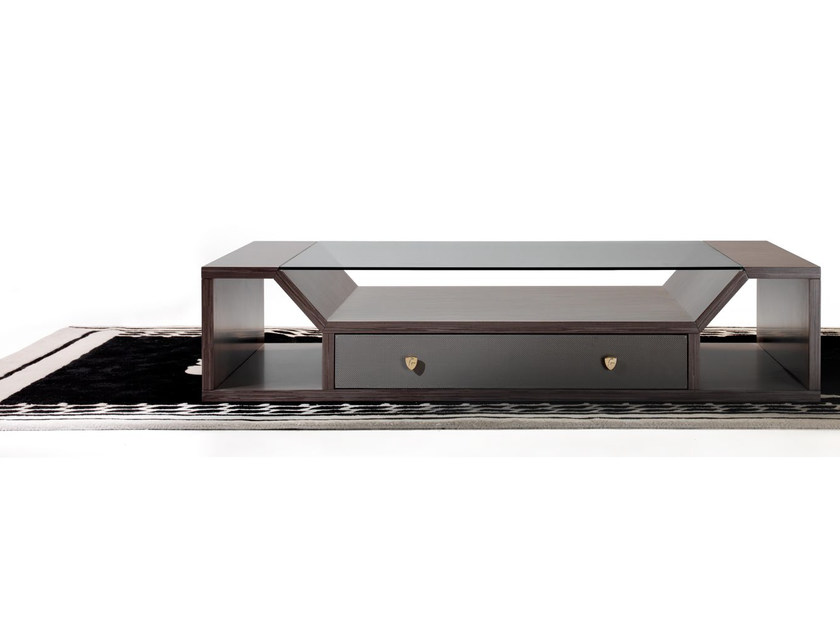 Low rectangular coffee table for living room LONG RACE | Rectangular coffee table by Tonino Lamborghini Casa