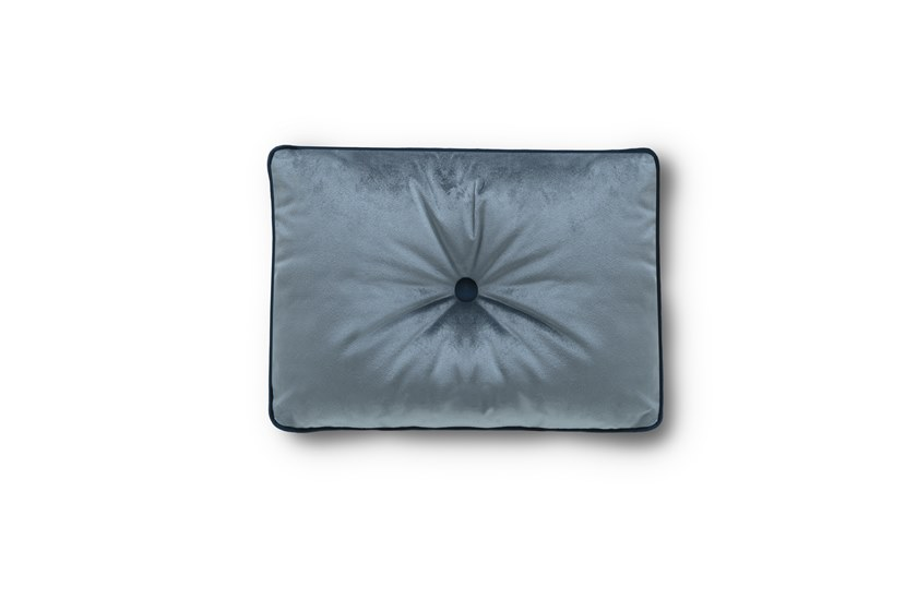 Solid-color rectangular fabric cushion Rectangular cushion by Felis