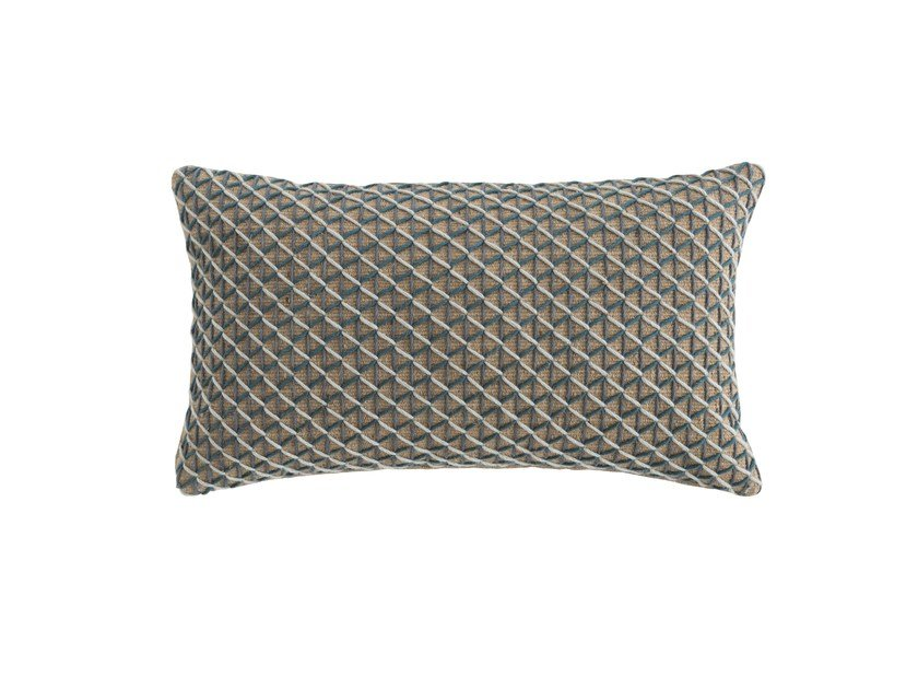 Jute cushion RAW | Rectangular cushion by GAN