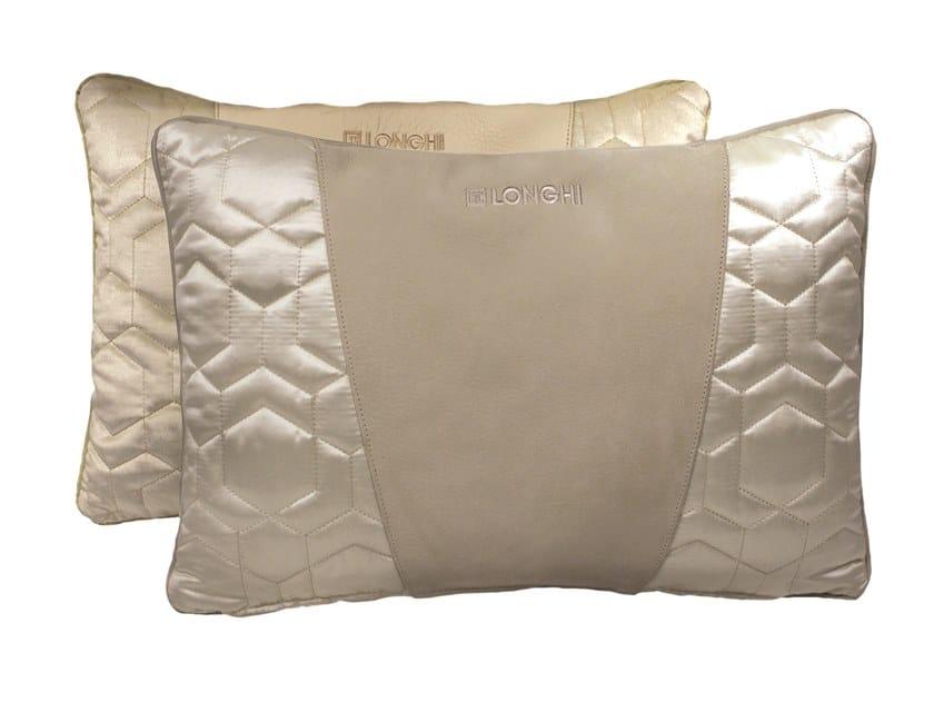 Solid-color rectangular cushion RECTANGULAR CUSHION by Longhi