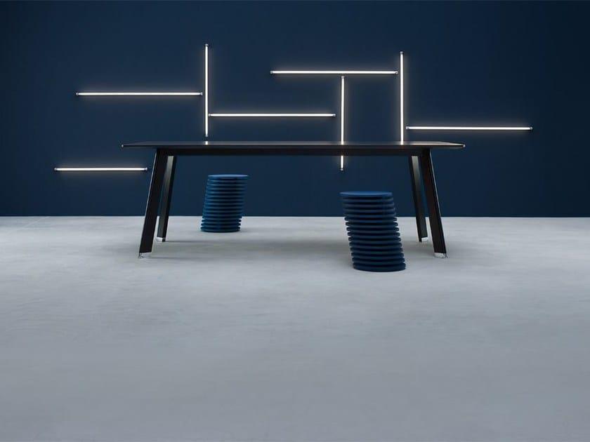 Rectangular meeting table SIMPLIC | Rectangular meeting table by BALMA