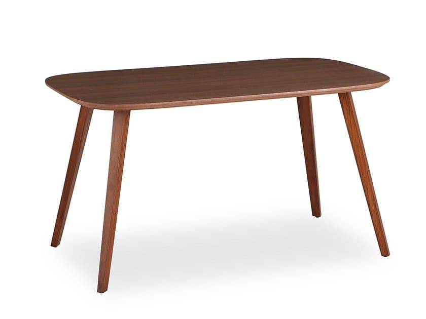 Rectangular table WOODPLATE | Rectangular table by B&T Design