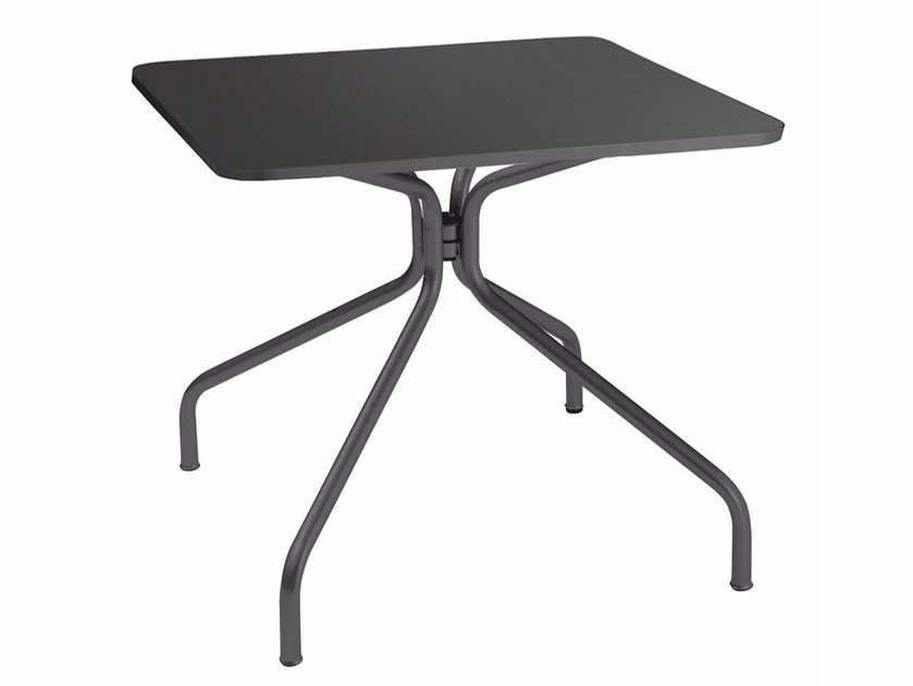 Rectangular steel table SOLID | Rectangular table by emu