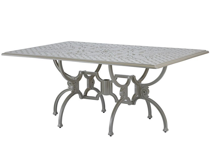 Rectangular aluminium garden table ARTEMIS | Rectangular table by Oxley's Furniture