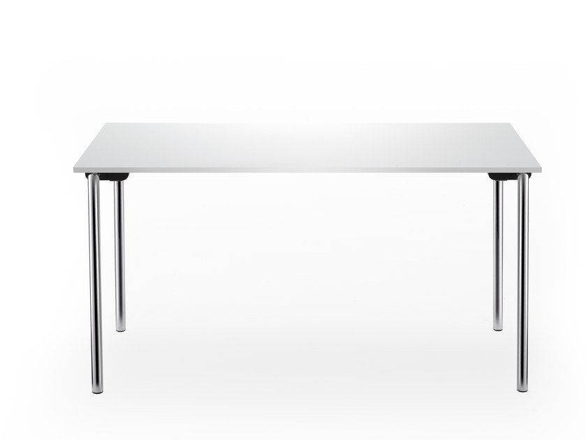 Folding rectangular table SYSTEM 24 | Rectangular table by rosconi