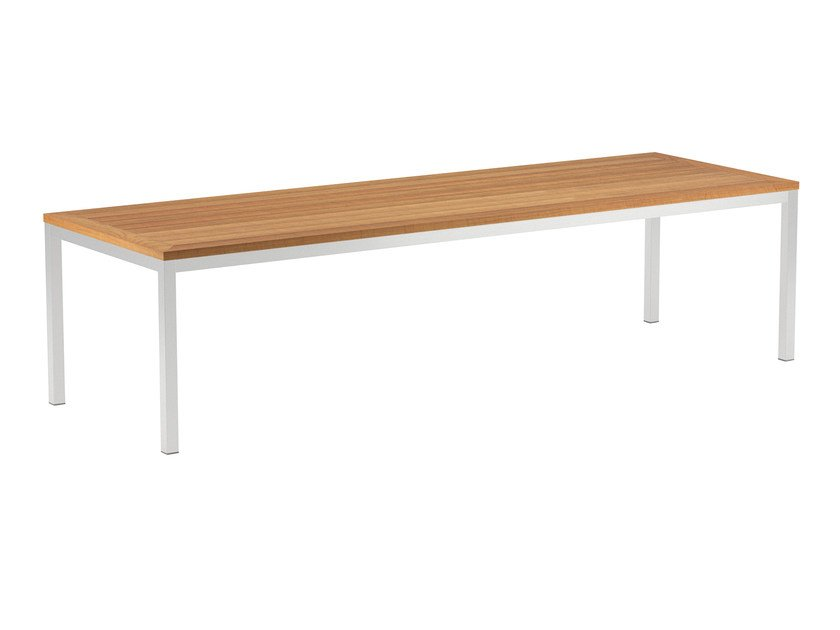 Rectangular Teak Garden Table Taboela By Royal Botania