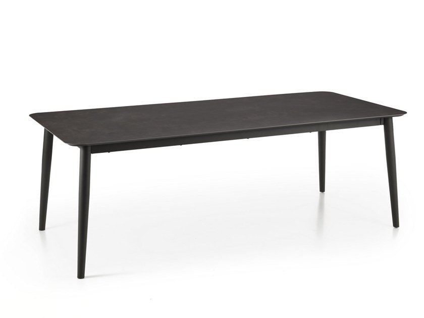 MOON ALU | Table rectangulaire Collection Moon Alu By Talenti design ...