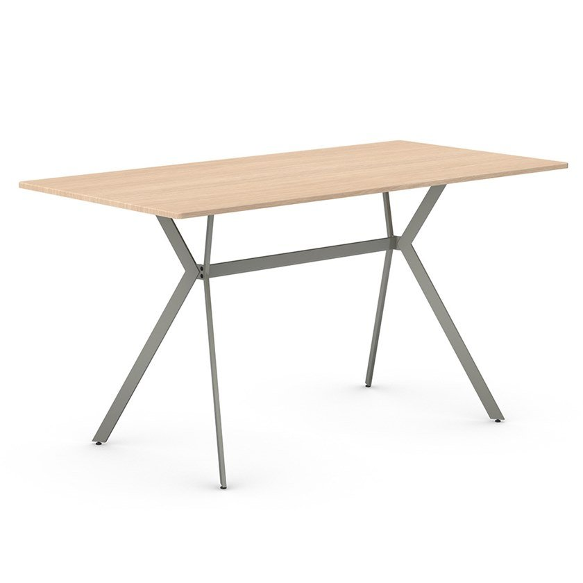 Rectangular iron table PLEC | Rectangular table by Vela Arredamenti