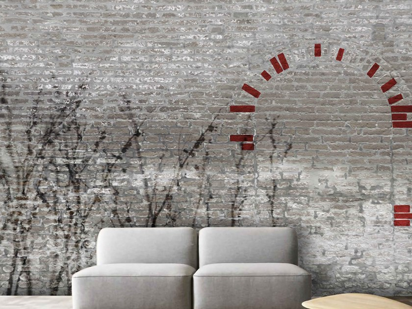 Revestimento de parede / Papel de parede RED SPOTS by Officinarkitettura®