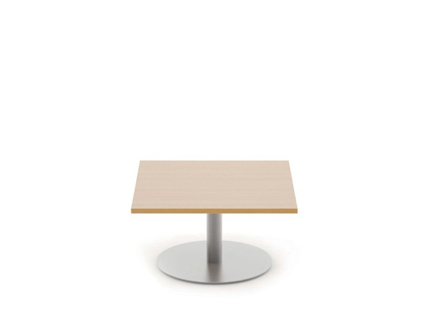 Square melamine coffee table REEF | Square coffee table by Boss Design