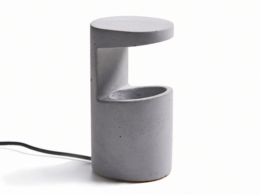 LED concrete table lamp REF by URBI et ORBI