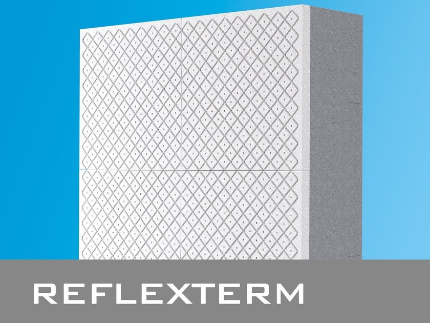 EPS thermal insulation panel / Exterior insulation system REFLEXTERM by POLITOP