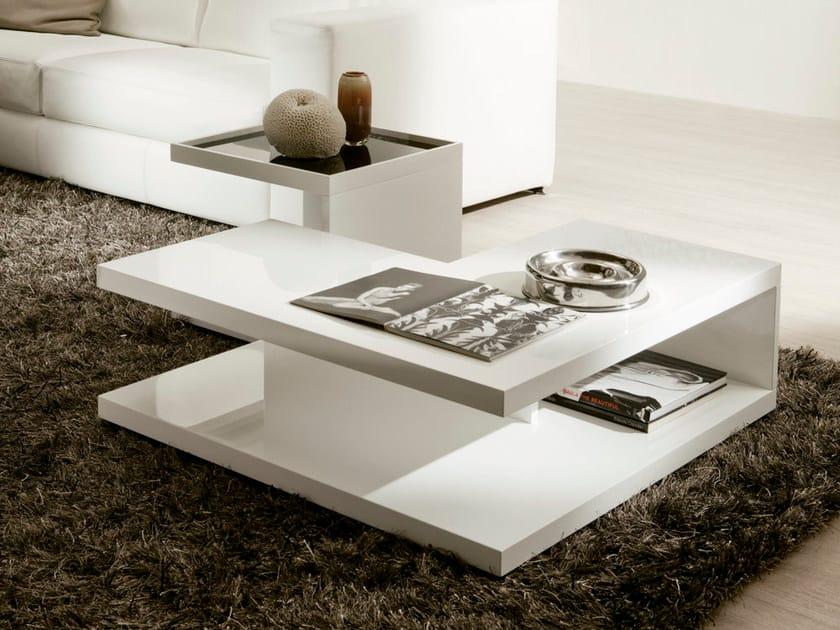 Tavolino laccato quadrato REGAL by Pacini & Cappellini