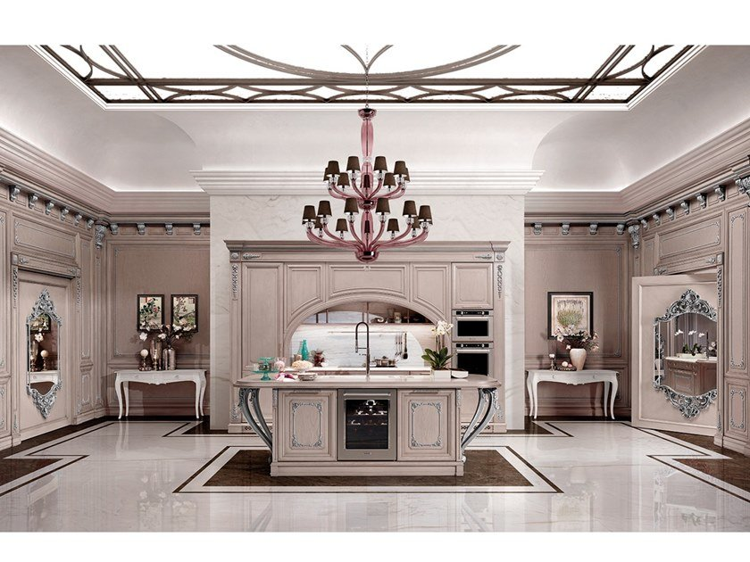Classic style fitted kitchen REGINA 02 by Prestige