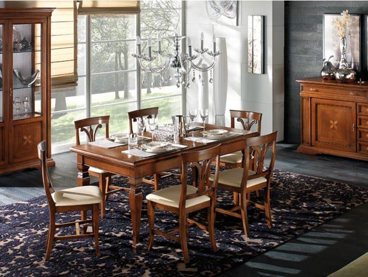 Rectangular solid wood table REGINA | Rectangular table by Devina Nais