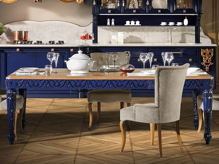 Lacquered rectangular dining table REGINA | Rectangular table by Prestige
