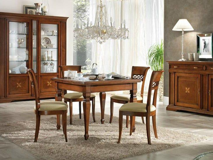 REGINA | Quadratischer Tisch Kollektion Regina By Devina Nais