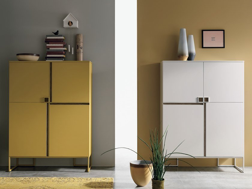 Lacquered highboard REGOLO | Highboard by Gruppo Tomasella